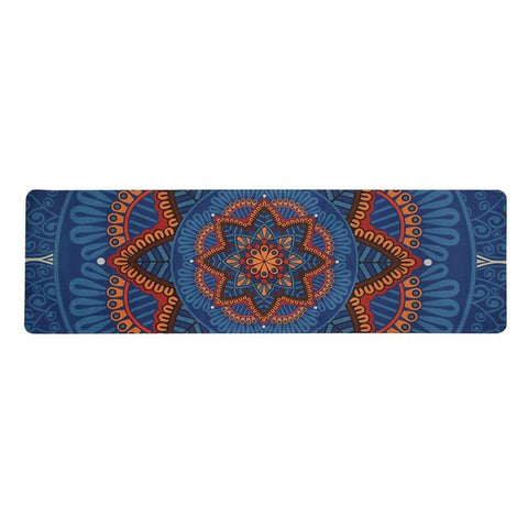 Image of 5 Mm 183*61cm Vintage Latin Style High Quality NRB Non-slip Yoga Mats For Fitness Tasteless Pilates Gym Exercise Pads Bandages