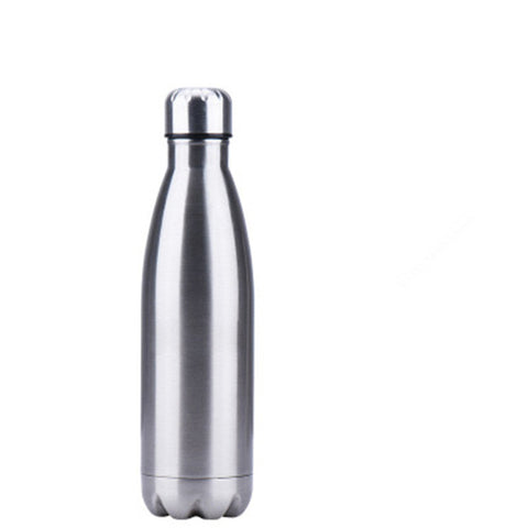 Image of 500ML Car Hiking Trip Vacuum Flask Stainless Steel Thermos Portable Vacuum Insulated Water Bottle Sport Thermal Thermos Flask