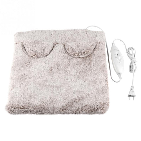 Image of Foot hand Warmer heating pad Slippers Sofa Chair warm cushion electric heating pads warm shoes winter warm electric blanket