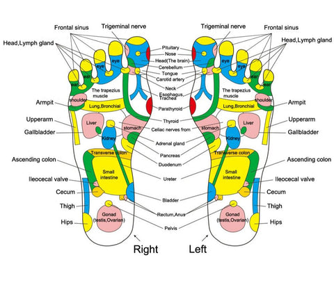 Image of Reflexology Foot Mat