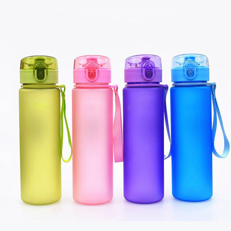 Leak Proof Sport Water Bottle High Quality Tour Hiking Portable  Bottles 400ml 560ml