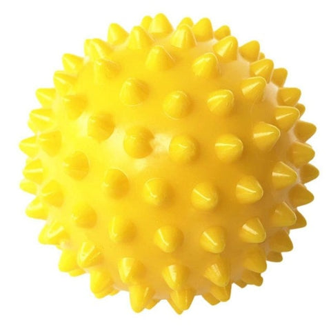 Image of PVC Spiky Massage Ball Trigger Point Sport Fitness Hand Foot Pain Stress Relief Fitness Accessories Muscle Relax Ball 6 Colors