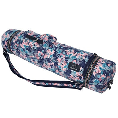 Image of Meditation Garden Cargo Yoga Mat Bag