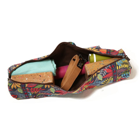 Meditation Garden Cargo Yoga Mat Bag