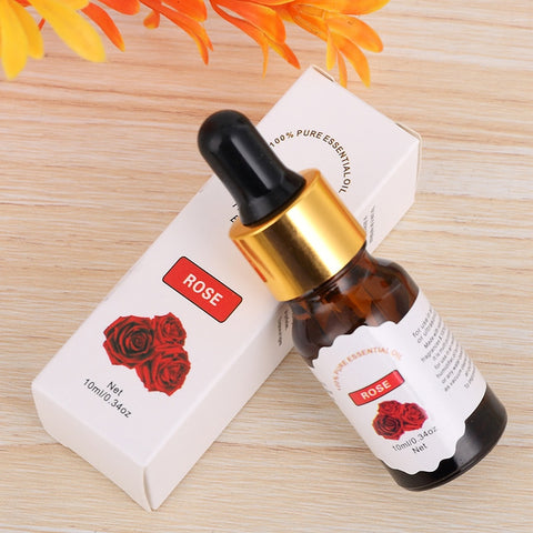 Image of Pure Essential Oils For Aromatherapy Diffusers Flower Fruit Essential Oils Relieve Stress for Humidifier Skin Care TSLM1