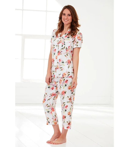 Ladies Peony Sunrise Pyjama Set
