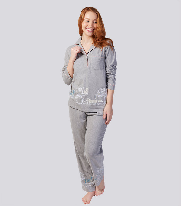 Into the Woods Soft Cotton Pyjama Set