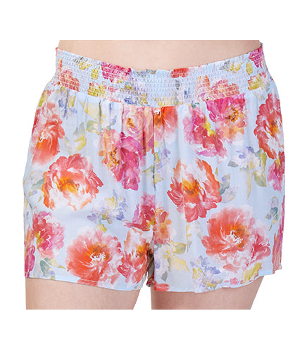 Ladies English Rose Sleep Pyjama Short
