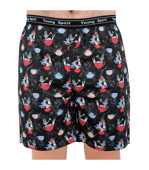Mens The Mad Hatter Classic Cotton Sateen Short