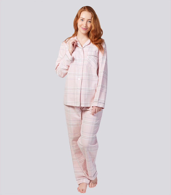 Winter's Bloom Cotton Flannelette Pyjama Set