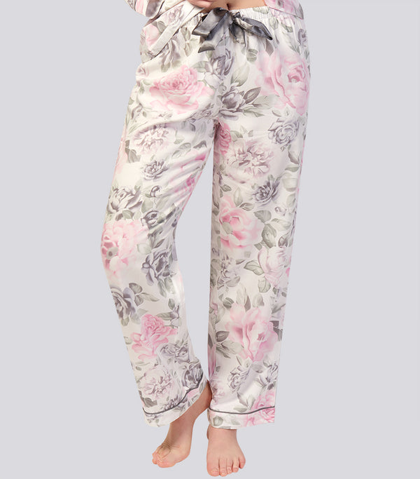 Winter Floral Viscose Cotton Classic Pyjama Pant