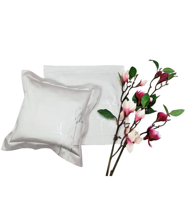 Magnolia White Cushion Cover – Set of 2 - Magnolia Lounge