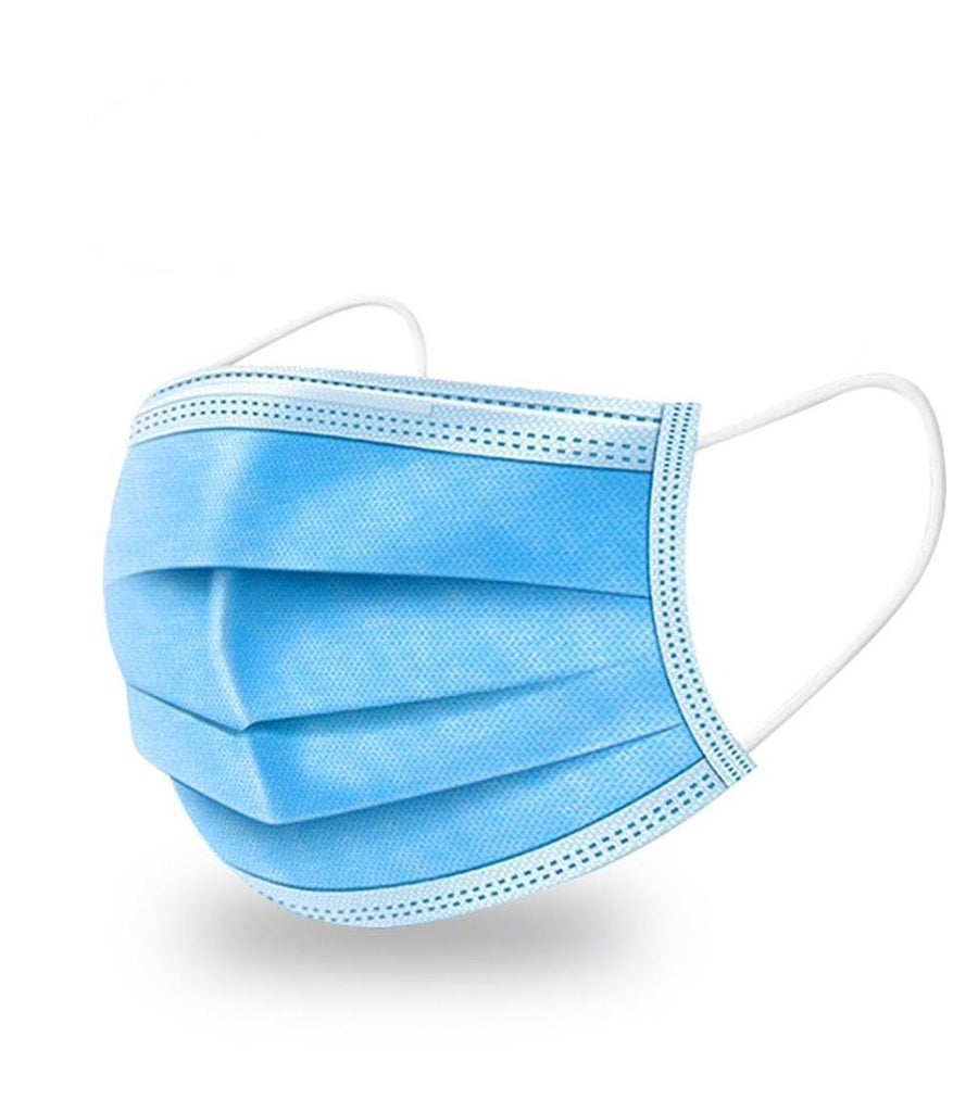 Disposable Protective Surgical 3-ply Face Masks (50 Pack)