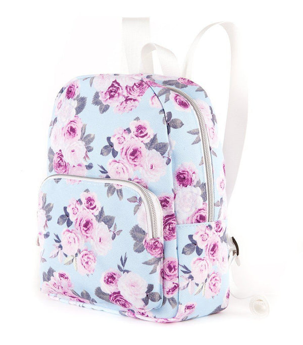 Icy Rose Canvas Mini Backpack - Magnolia Lounge