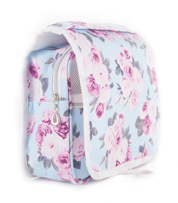Icy Rose Canvas Toiletry Organiser Bag - Magnolia Lounge