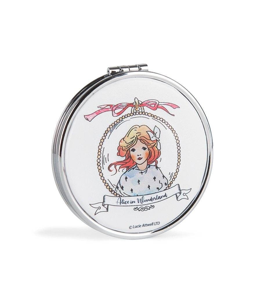 Alice in Wonderland Pocket Compact Mirror - Magnolia Lounge