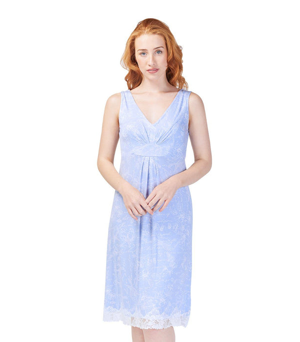 Nighties - Ladies Botanical Studies Chemise