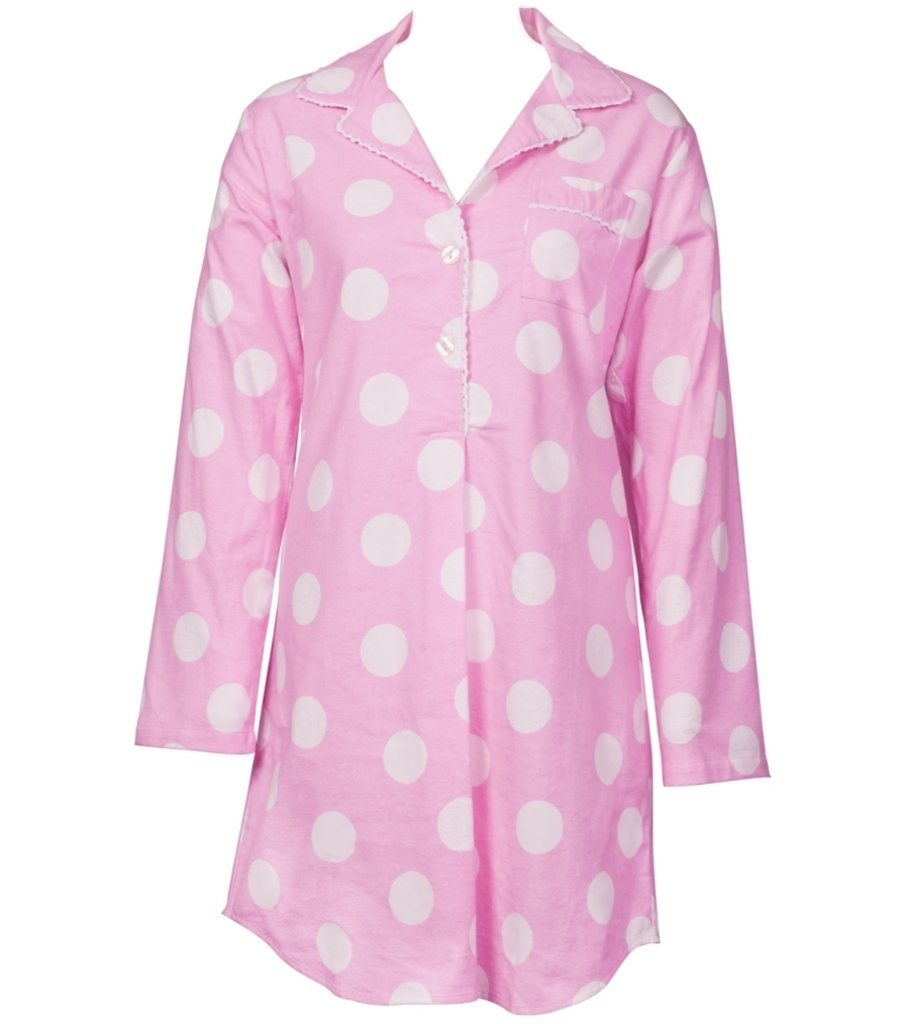 Pink Spot Nightie - Magnolia Lounge