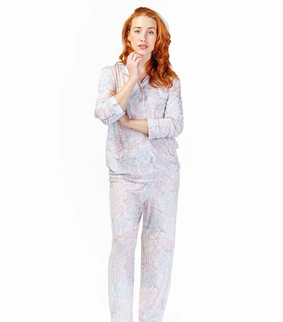 Winter Forest Knit Pyjama Set - Magnolia Lounge