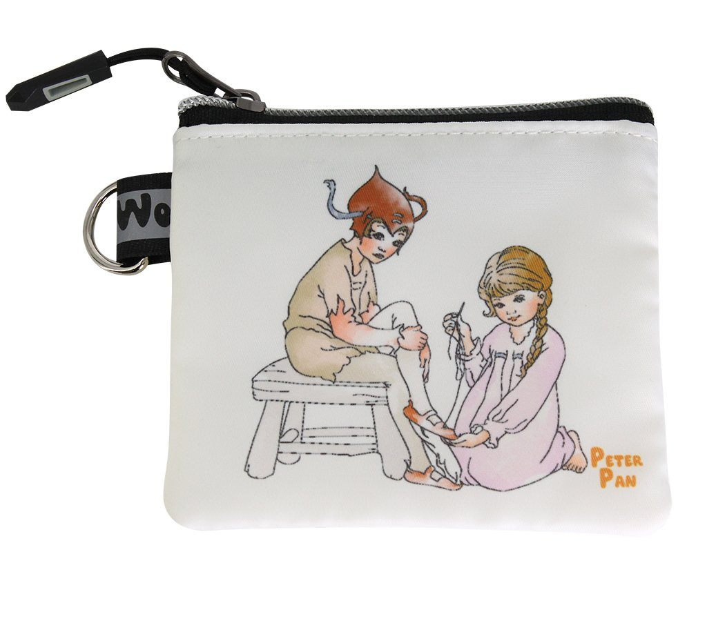 Travel Bag - Peter Pan Coin & Jewellery Purse - Peter Pan With Wendy  | Young Spirit Australia