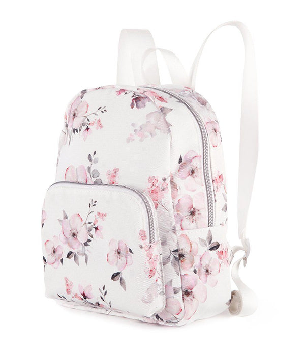 Water Floral Canvas Mini Backpack - Magnolia Lounge