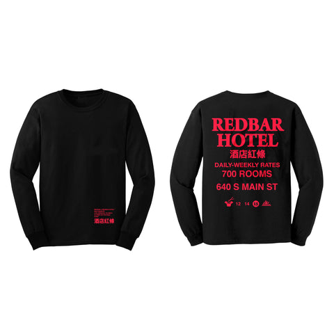 REDBAR HOTEL LONG SLEEVE