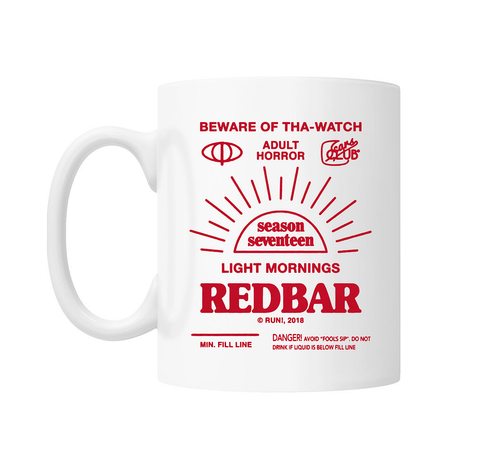 "REDBAR ""LIGHT MORNINGS"" MUG"
