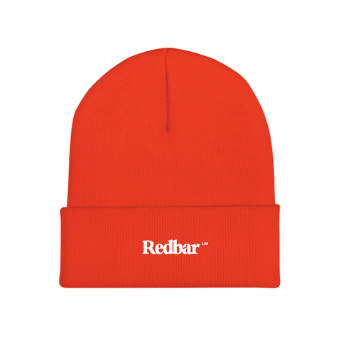 REDBAR KNIT BEANIE (ORANGE)