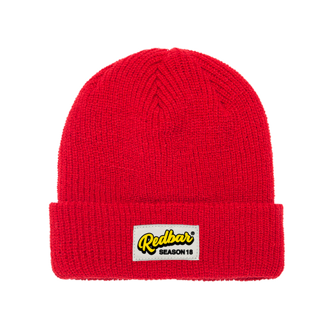 REDBAR SEASON 18 BEANIE (RED)