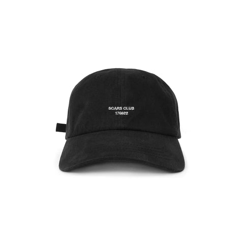 SCARS CLUB DAY ONE PREMIUM HAT - BLACK