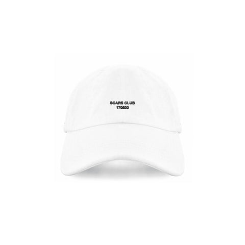 SCARS CLUB DAY ONE PREMIUM HAT - WHITE