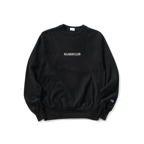 SCARSCLUB EMBROIDERED CREWNECK (LIMITED)