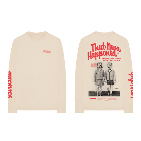 SCARSCLUB TOWNCENTER LONG SLEEVE (IVORY)