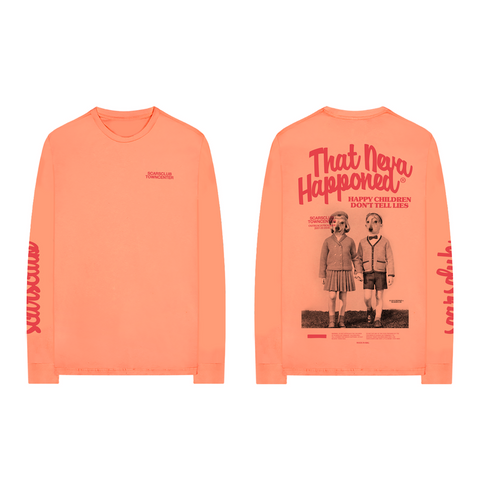 SCARSCLUB TOWNCENTER LONG SLEEVE (MELON)