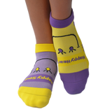 Smiley (Yellow/Lavender)
