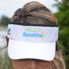 Hello Runshine Athletic Visor
