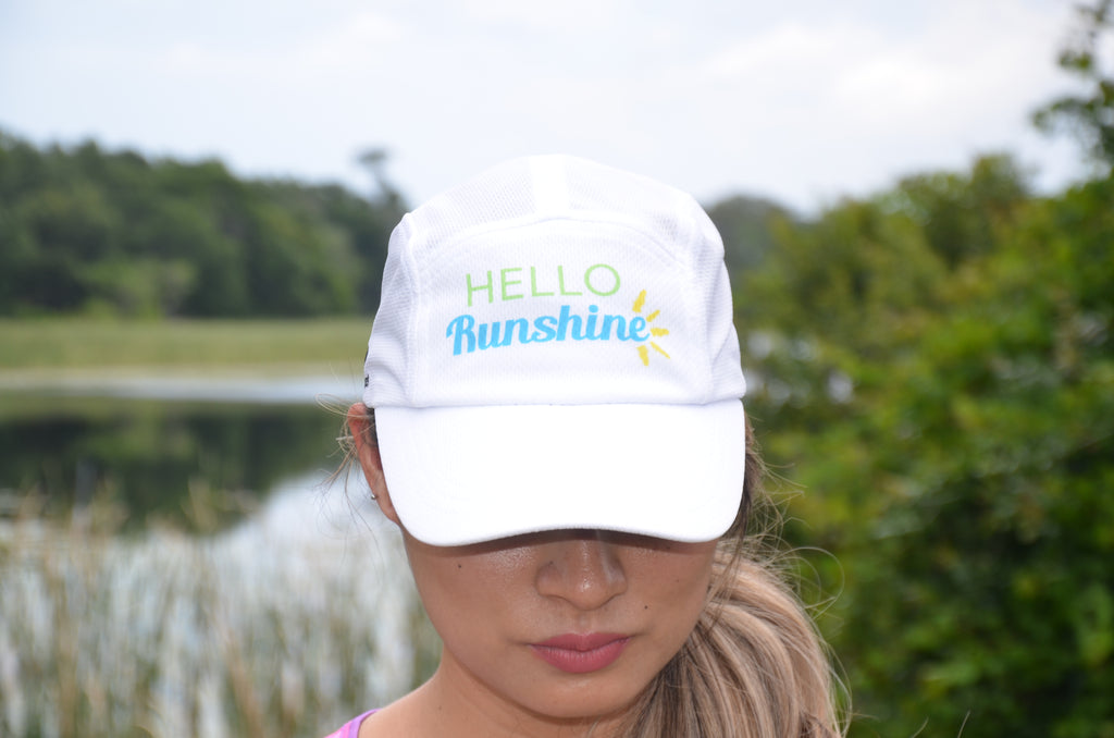 Hello Runshine Athletic Hat