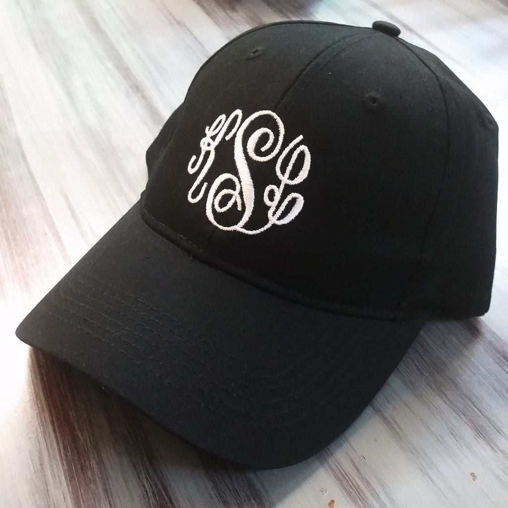c02e8e59b Classic Monogram Caps | Over 20 colors | Adult or Youth