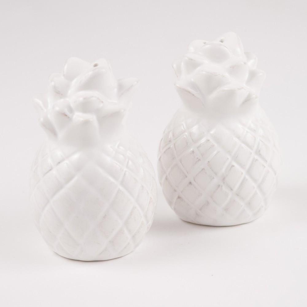 Precious Pineapple Salt & Pepper Shakers
