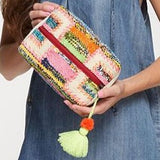 Multi Color Tapestry Artisan Tassel Pouch