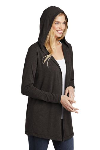 Embellish Triblend Hooded Cardigan