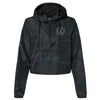 Embellish Ladies Camo Cropped Hooded Rain Jacket | Monogrammed