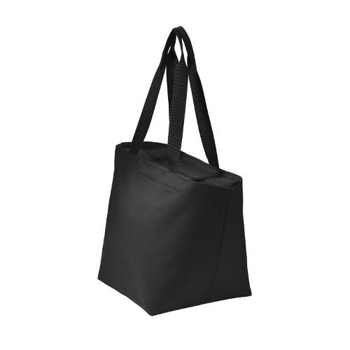 Embellish Contrast Zipper Top Tote  | Personalized