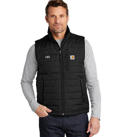 Embellish Men's CARHARTT Insulated Puffer Vest | Monogrammed