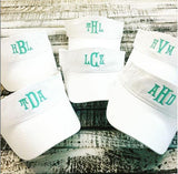 Adult Cotton Twill Visor in 12 colors | Monogrammed