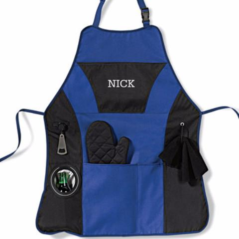 ROYAL BBQ GRILLING APRON | PERSONALIZED