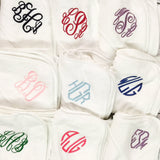 Monogrammed Baby Hooded Towel