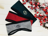 Embellish Custom Monogrammed Polar Fleece Ear Warmer Head Band