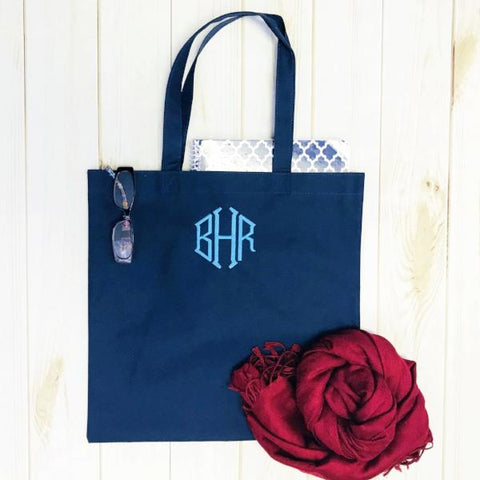 Embellish Everyday Monogram Tote | Personalized