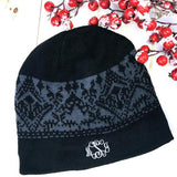 Embellish Knit Alpine Winter Hat | Personalized